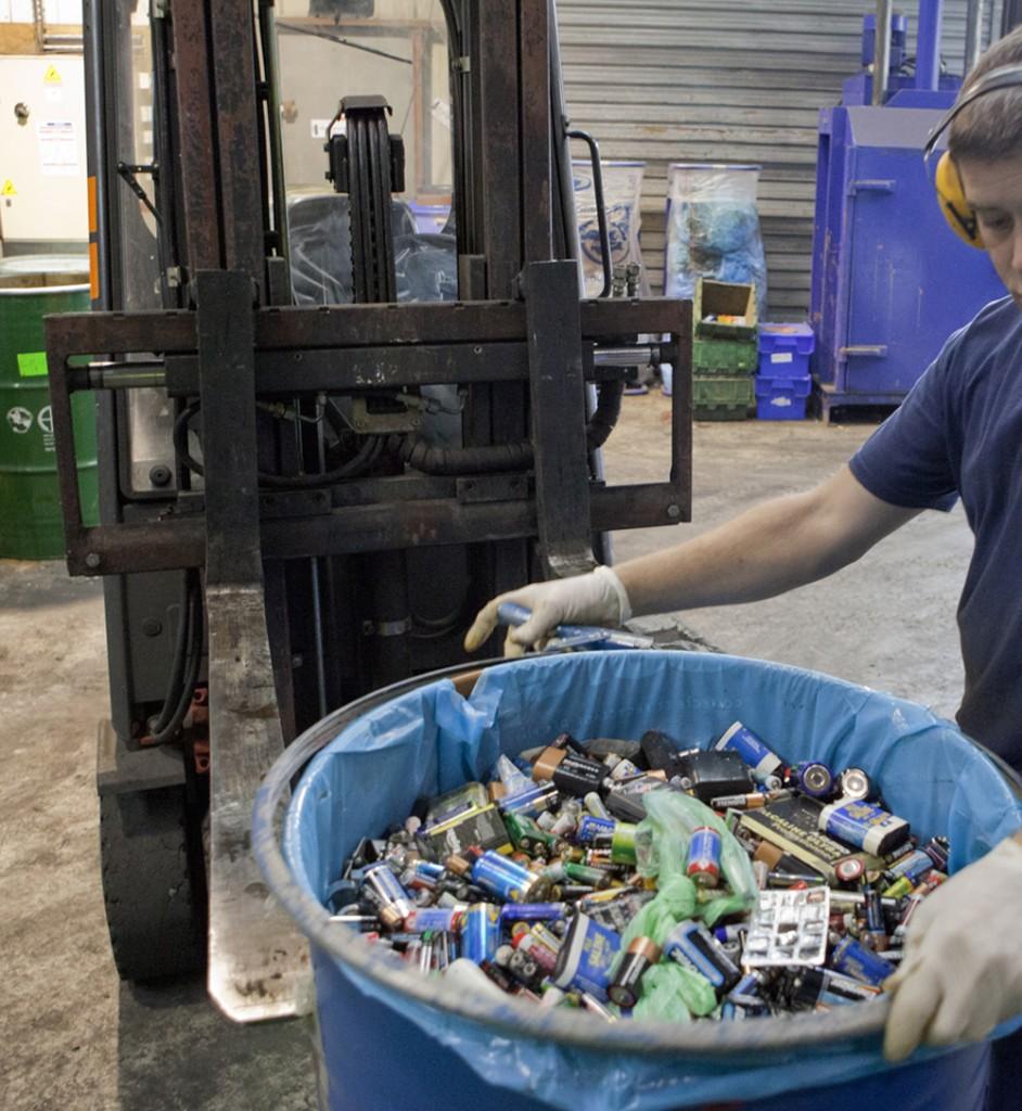 pourquoi recycler des piles