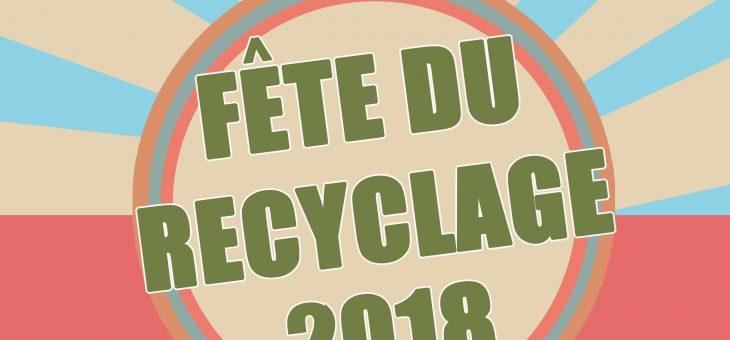Fête du recyclage le Dimanche 1er Juillet 2018 de 7h à 15h