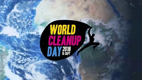 Journée mondiale de collecte des déchets sauvages le 15 sept 2018