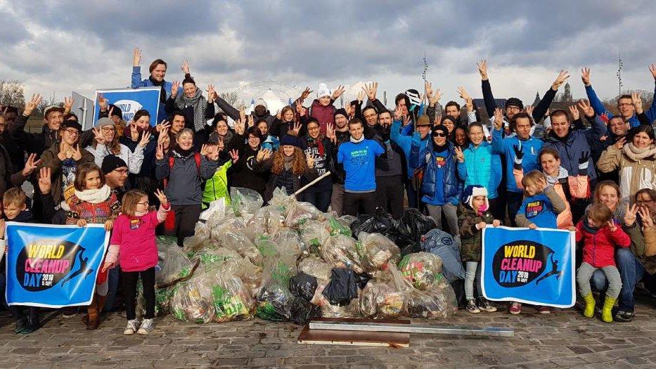 Journée mondiale de collecte des déchets sauvages