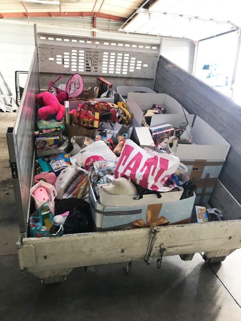 Opération de collecte de jouets pour Emmaüs