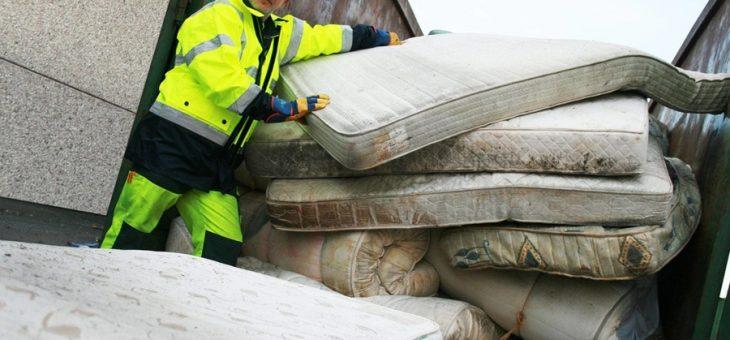 Ne jetez plus vos vieux matelas, ils sont maintenant recyclés !