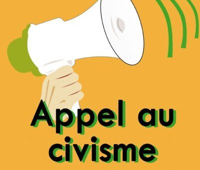 Appel au civisme