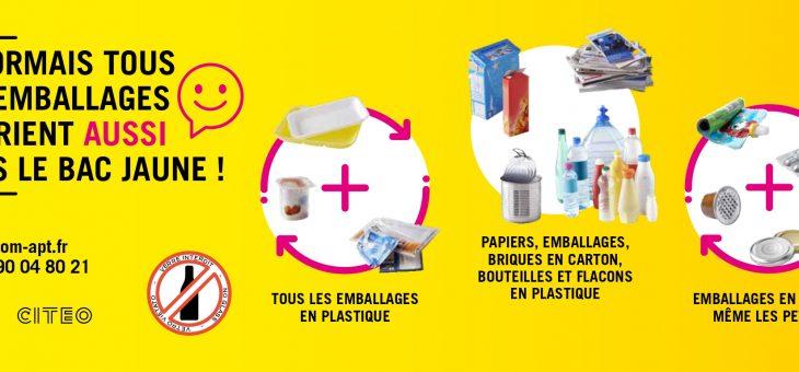 Recyclage des emballages – Ont fait le point !